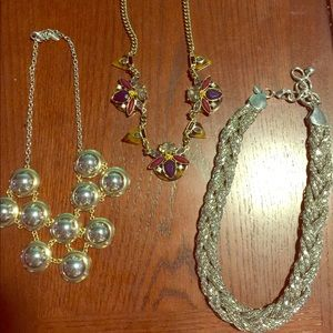 Lot of Express necklaces
